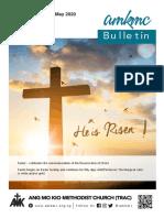 AMKMC Bulletin (17 May 2020)