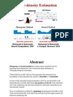 Histogram and Kernel Optimization