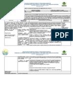 FORMATO PLANEACION PEDAGOGICA 11 AL 15 DE MAYO