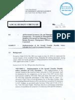 Local Budget Circular 95 - 2010