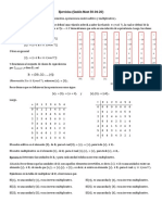 Ejercicios álgebra