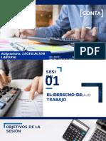 SESION 1 - EL DERECHO DE TRABAJO (1)