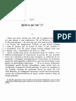Qu'est-ce que l'art .pdf