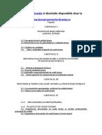 842 Auditul Intern. Procedee Si Tehnici de Audit Intern La Institutiile Publice