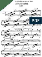 Bizet - Jeux d'Enfants Per Pf a 4 Mani