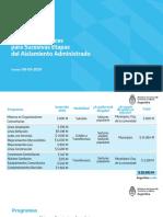 Programas Eficaces para Sucesivas Etapas del Aislamiento Administrado