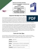COMPOSICION MINERALOGICA DE LAS ROCAS