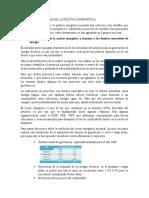 Resumen LINEAS ESTRATEGICAS DE LA POLITICA ENERGETICA