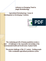 Agricultural Biotechnology Ppt