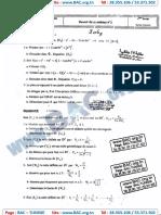Devoir Synthése N°1 avec correction - Mathematique - bac science -Lycée Majida Boulila SFax - 12-12-2014.pdf