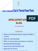 Use of Blended Coal in Thermal Power Plants - Mr_ SK_ Thakur