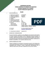 SILABO ING CIVIL -  PAVIMENTOS 2020-I