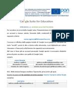 Istruzioni n.1 primo accesso piattaforma classroom