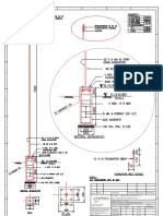 Lighting Arrestor Foundation details 200 MM J BOLT-Model