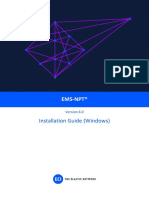 EMS-NPT V6.0 Installation Manual (Windows)