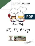 Recetas de Cocina - Mayo 2020