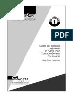 Cierre del ejercicio aplicando el Nuevo Plan Contable General Empresarial, César Roque Cabanillas CPT-convertido