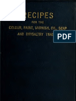 Recipes for Colour Anal