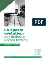 Lo Spazio Evolutivo Architettura e Ricerca Tecnica Copy
