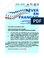 Apel 2020 RÊVER EN FRANÇAIS 2