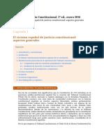 Manual Justicia Constitucional,  Pablo Pérez Tremps