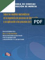 Modelos matemáticos en la ingeniería de procesos