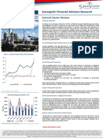 Cement Sector Review for 8M (equity research report)