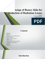 Thermos Design of Rotary Kiln for  Reduction of Radiation Losses-10.pptx