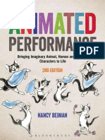 Animated Performance Bringing Imaginary Animal Human and Fantasy Characters to Life Required Reading Range