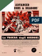 S1 La Tomba Degli Orrori ITALIANO Gary Gygax AD&D Tomb of Horrors