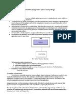 Virtualization assignment