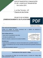 8 Dimensionamento Plataforma - UIC 719R