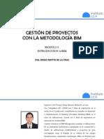 Modulo 1 - Introduccion a BIM