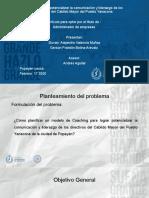 Presentacion articulo Coachig