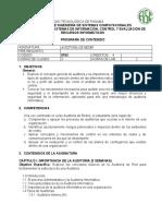 0763 Auditoria Redes PlanContenido 2020