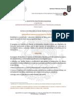 MAESTRIA EN CIENCIAS EN MATEMATICA EDUCATIVA   instituto politecnico nacional