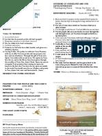 Bulletin-20 May 17A - 2020