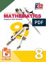 New Syllabus Mathematics 8 Singapore Math Worktext-1