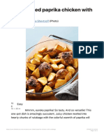 Oven-baked Paprika Chicken With Rutabaga - Diet Doctor