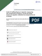 LECTURA 09 - Gonzalez-Trujillo et al - Escala de fluidez lectora en espa ol midiendo los componentes de la fluidez