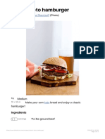 Classic Keto Hamburger - Diet Doctor