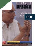 Kapuscinski Ryszard - Los Cinco Sentidos Del Periodista