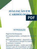 avaliação em cardiologia