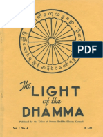 The Light of the Dhamma Vol 01 No 04 1953 07