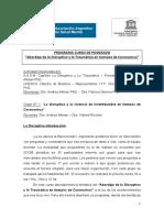 Coronavirus 2020 abordajes