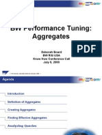 Performance Tuning - Aggregates