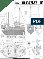 Graupner HF 408 Elke (2127) - Schnellbauplan, Blatt 1