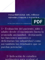 incumbencias  del Médico Rehabilitador o Fisiatra.pdf