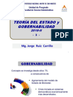 2018-II UNMSM Ms GP - Teoría del Estado y Gobernabilidad CIP 3 - Octubre (1)