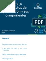 TEMA 03 - LOS COSTOS DE PRODUCCION Y SUS COMPONENTES